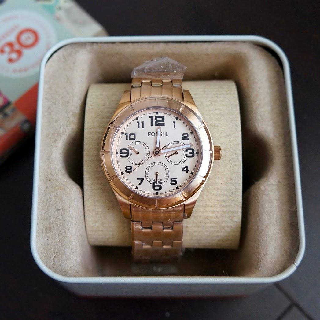 Reloj marca fossil para mujer