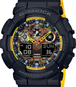 CASIO G-SHOCK  GA100BY-1A