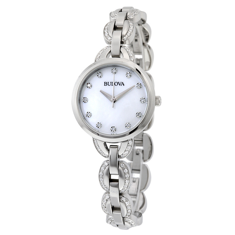 bulova-mother-of-pearl-dial-stainless-steel-crystalset-ladies-watch-96l203